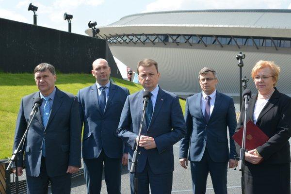 BA minister Błaszczak Katowice