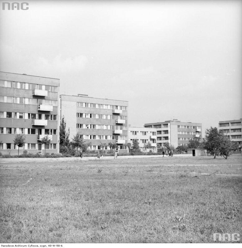 Sady Żoliborskie | źródło: Narodowe Archiwum Cyfrowe