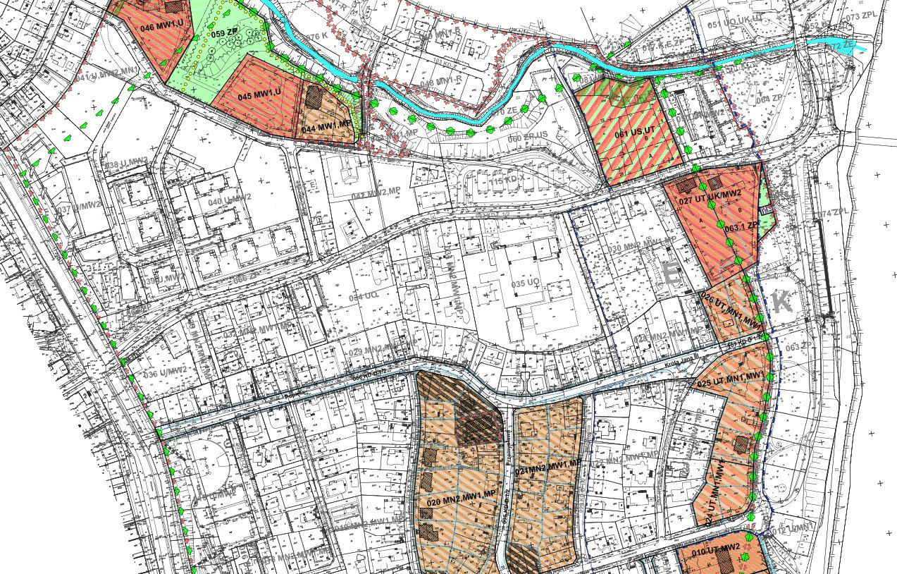 Wojewoda Orlowo plan 2016 map