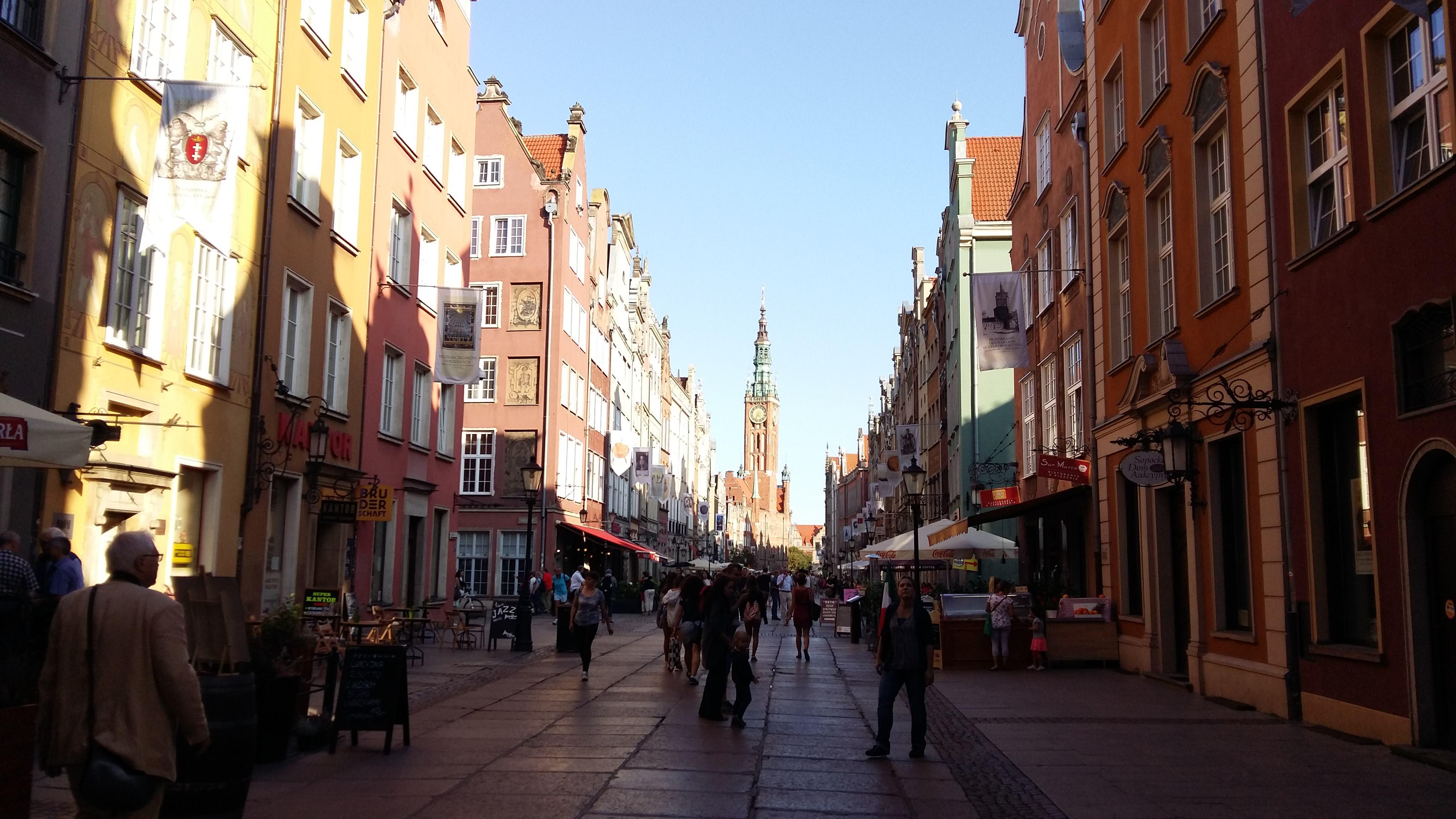 Długi Targ w Gdańsku; fot. Justyna Breś