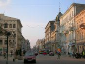 Ulica Piotrkowska w Łodzi | lic. CC-BY-1.0