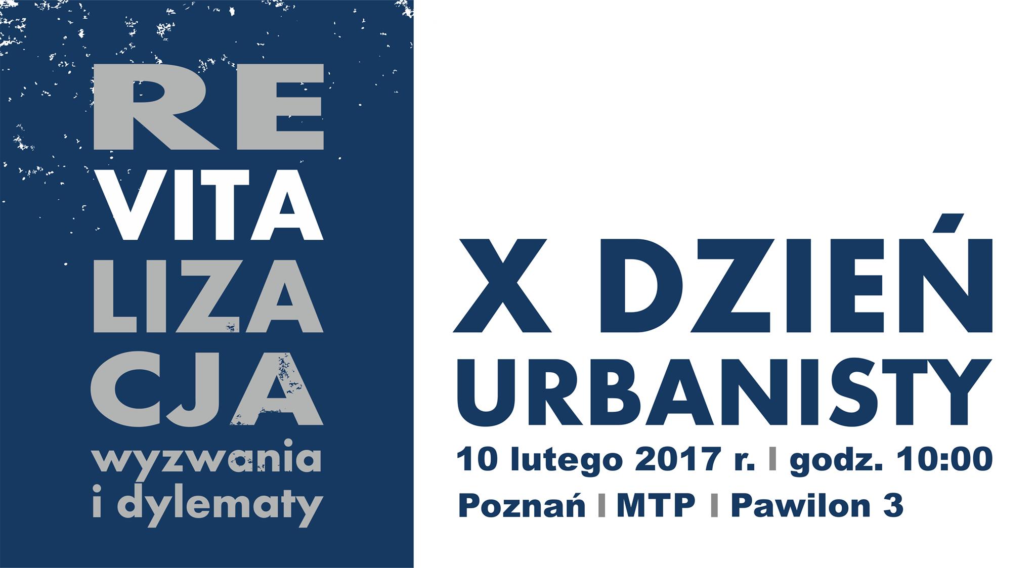X dzień urbanisty 2017