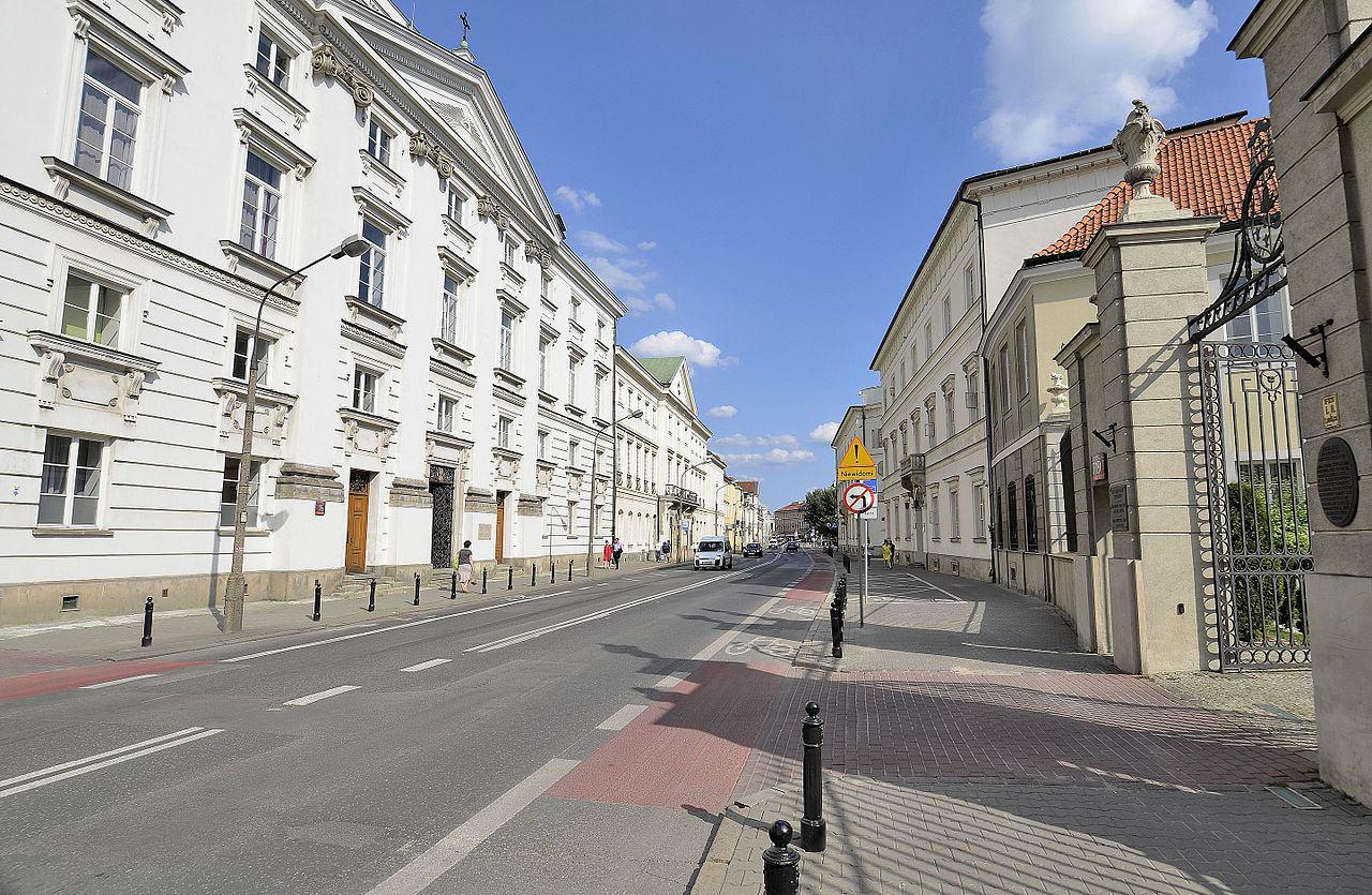 Ulica Miodowa Warszawa