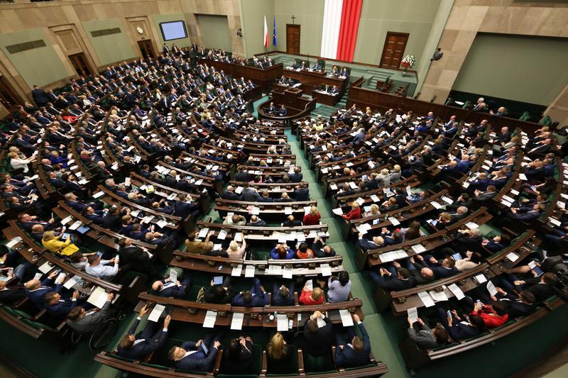 Sejm fot Krzysztof Białoskórski