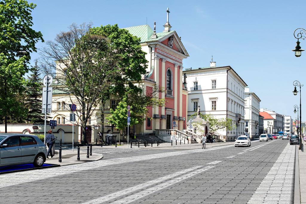 Miodowa Warszawa ZDM 1