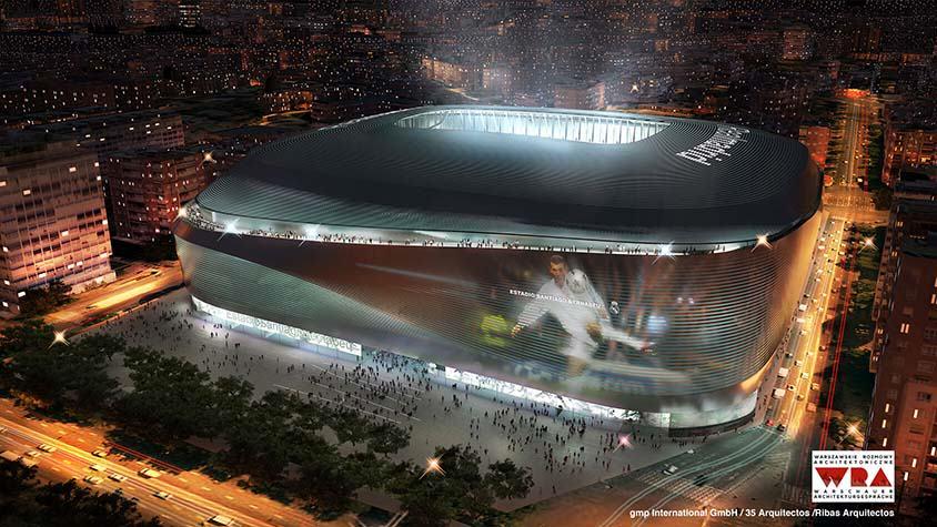 Remodelling Estadio Santiago Bernabéu