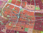 Wycinek Studium Uwarunkowań i Kierunków Zagospodarowania Przestrzennego Katowic