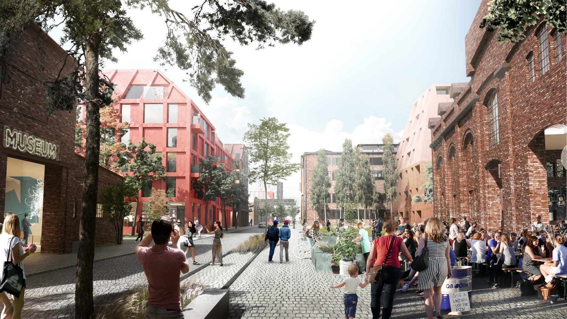 Gdansk Mlode Miasto Henning Larsen 2