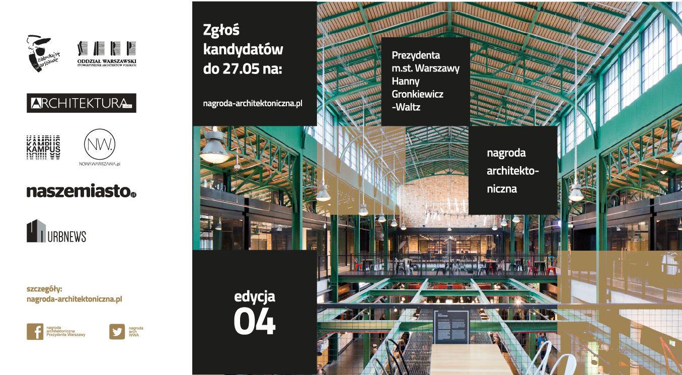 4_edycja Nagrody Architektonicznej Prezydenta m_st Warszawy
