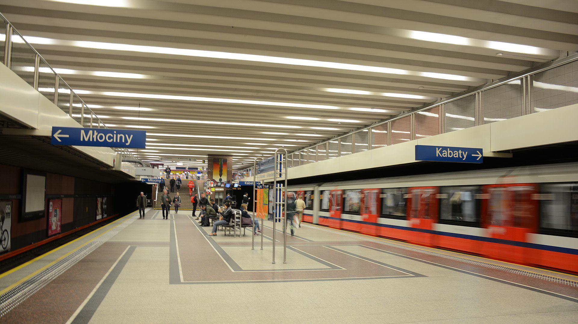 Metro Wilanwoska Warszawa