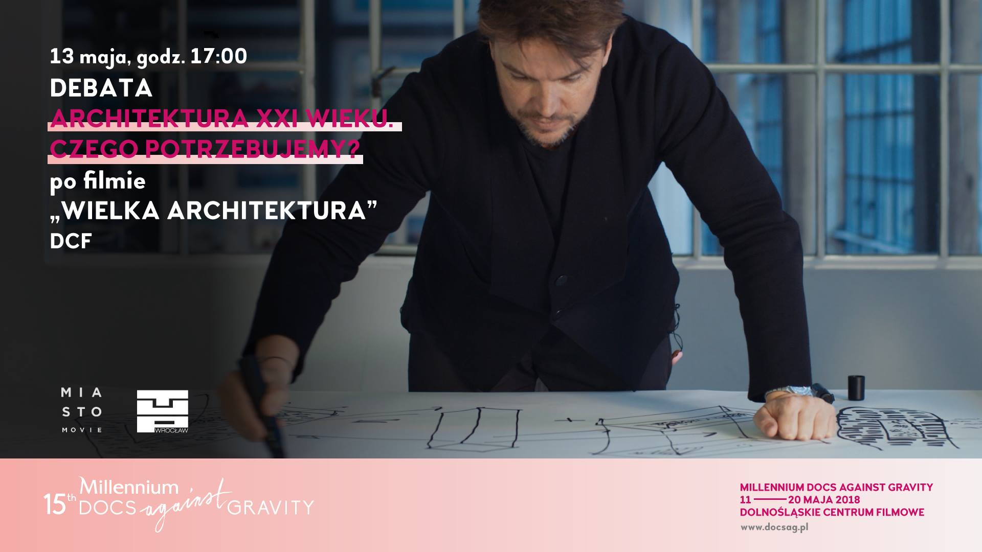 """""""Wielka architektura film + debata"""