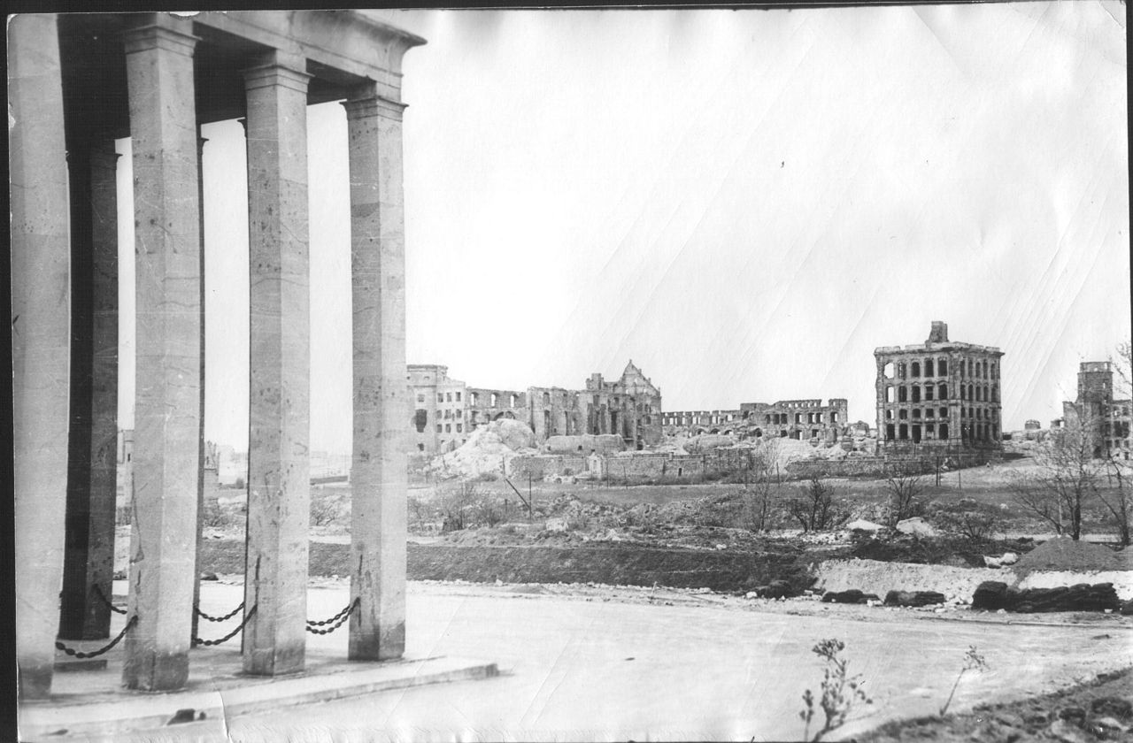 Zamek Królewiecki 1950