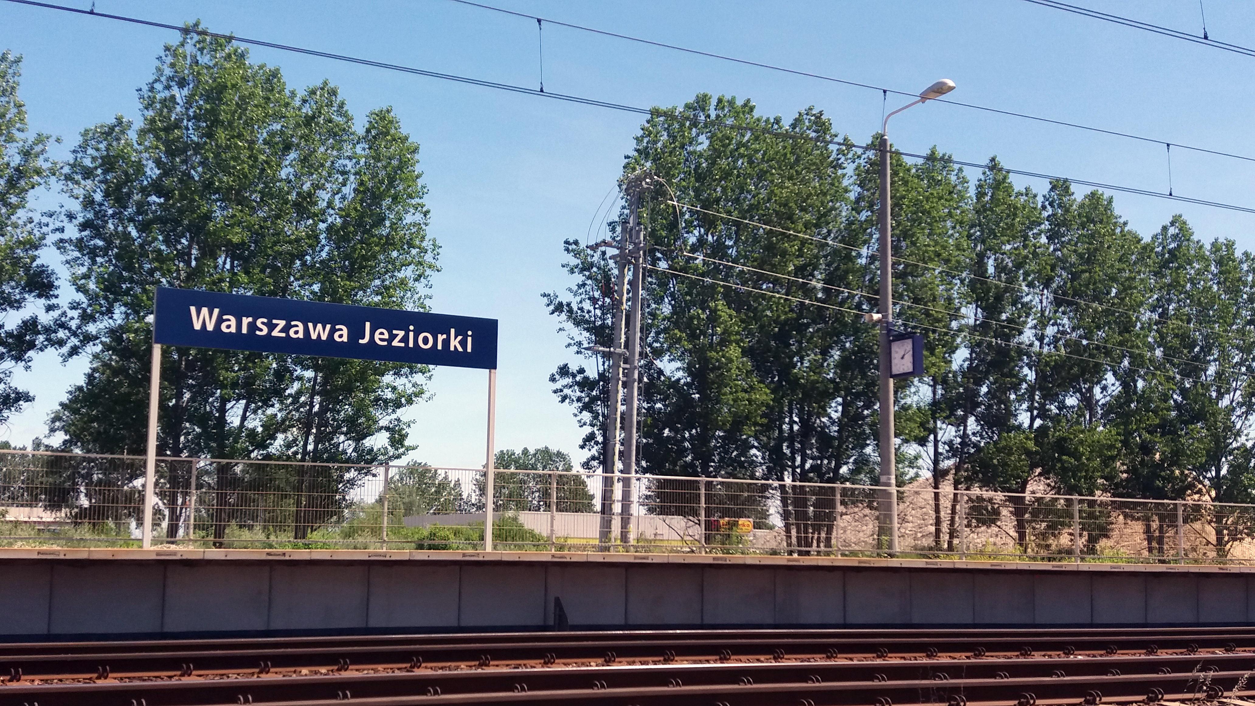 Nowe Jeziorki 2018 Karczunkowska peron