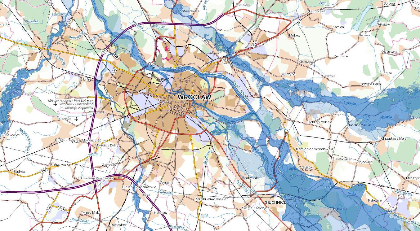 mapa powodziowa