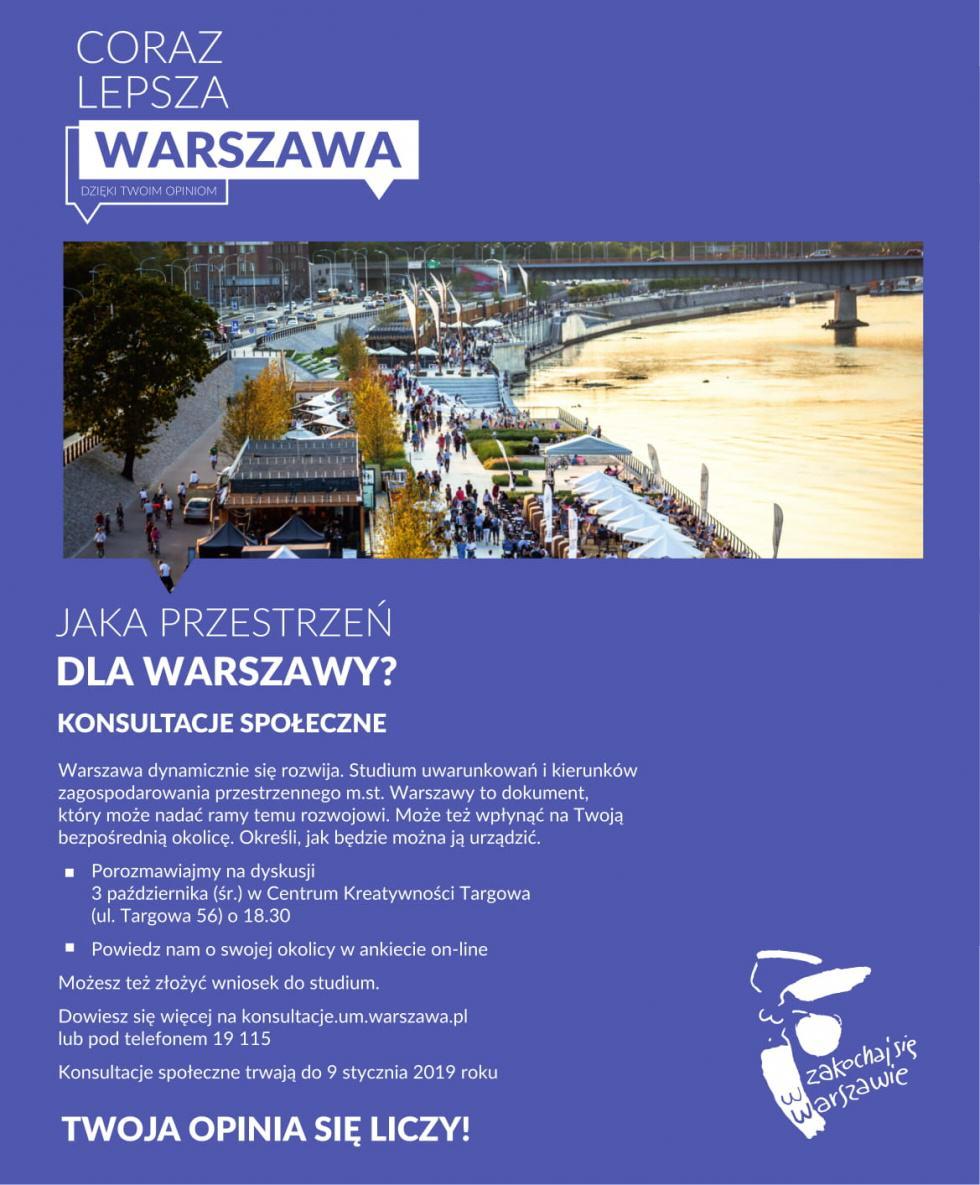Warszawa studium 2018