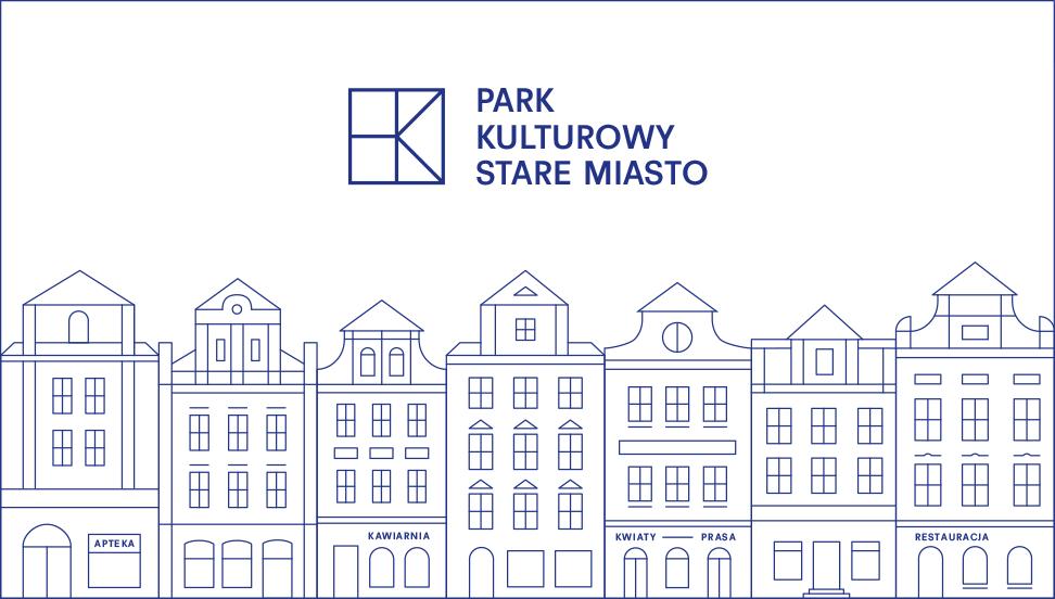 Poznan park kulturowy logo kamienice