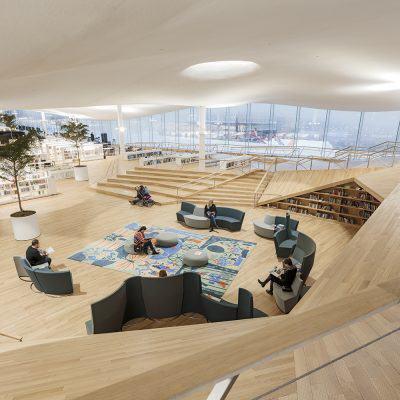 City of Helsinki 20181203 Helsinki Central Library Oodi
