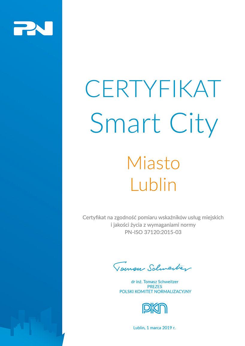 Certyfikat_Smart City Lublin2702