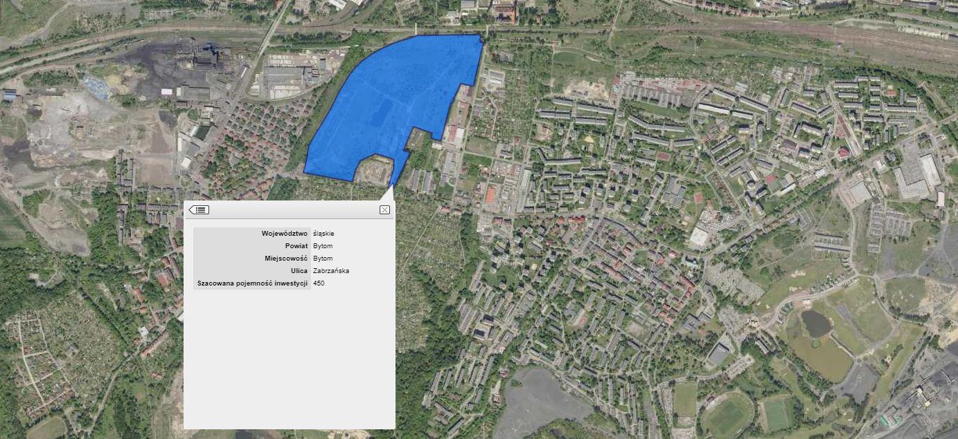 Mieszkanie Plus mapa Bytomjpg