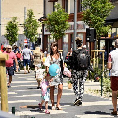 Ulica Abrahama po otwarciu | fot. Kamil Złotch / www.gdynia.pl