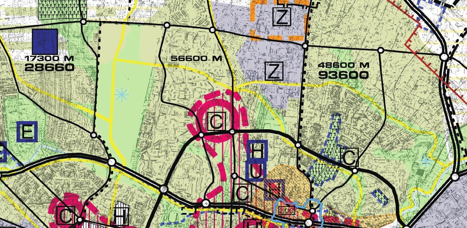 Studium z 2000 roku zakładało zachowanie Górek Czechowskich jako teren zielony
