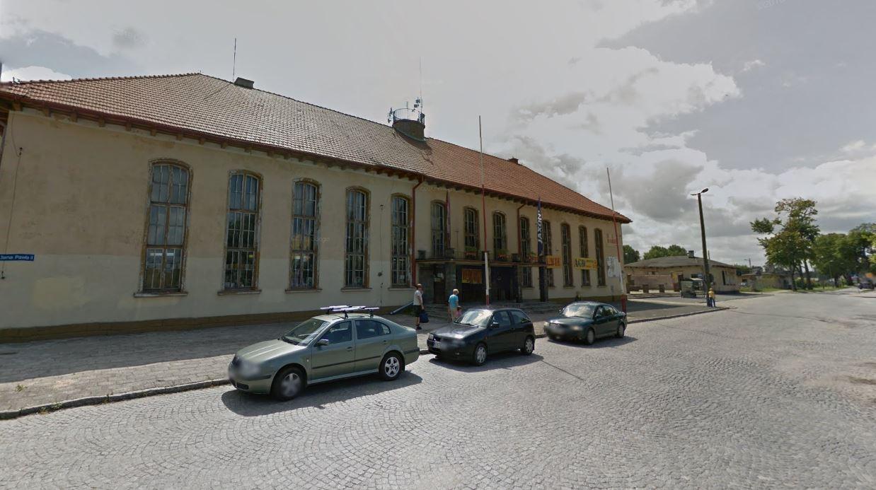 Olsztynek dworzec GSV