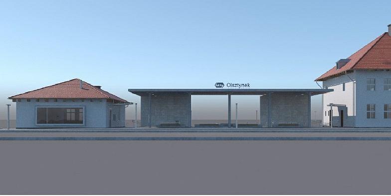 Olsztynek dworzec PKP 3