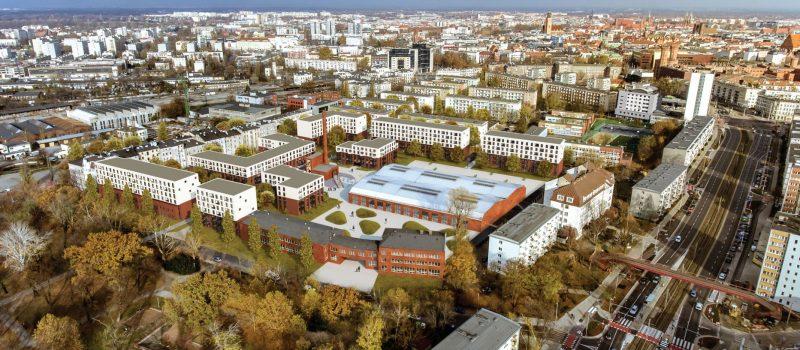 Wizja dla osiedla przy ul. Kolejowej we Wrocławiu