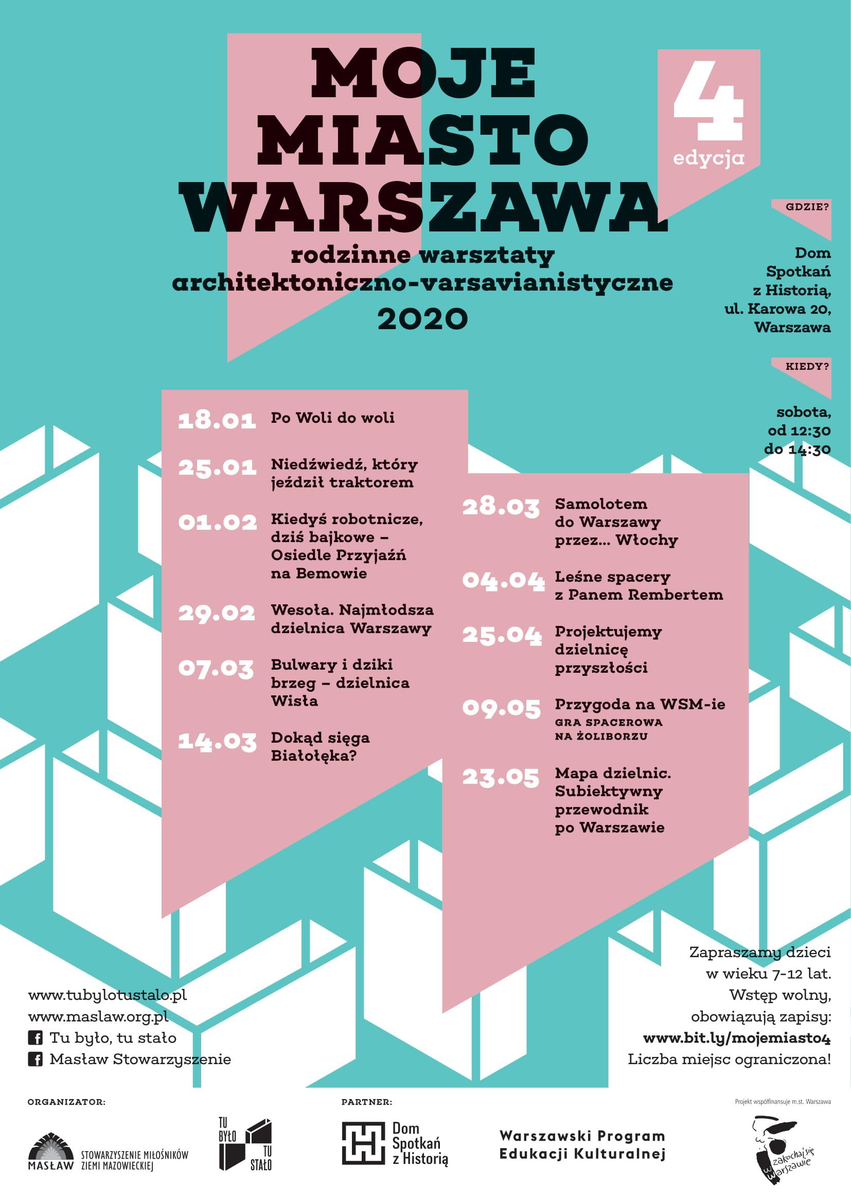 2020 MojeMiastoWarszawa plakat