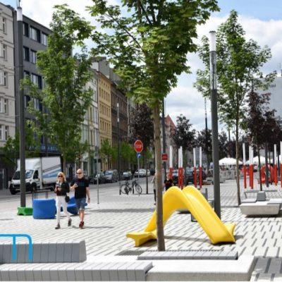 Przebudowa ulicy Św. Marcin w Poznani