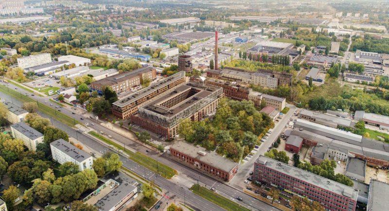 Wizualizacja inwestycji przy ulicy Piłsudskiego w Łodzi, na który zgodzili się radni | fot. materiały inwestora, opublikowane w ramach konsultacji społecznych