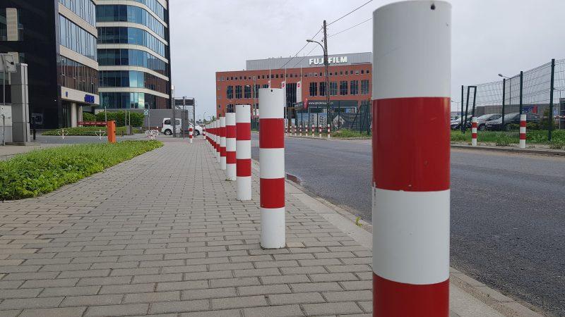 Warszawa słupki