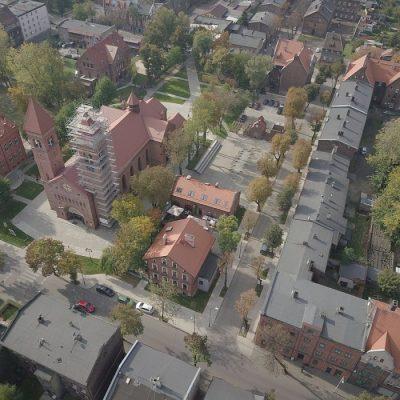 Stacja Biblioteka - rewitalizację zabytkowego budynku dworca kolejowego wRudzie Śląskiej - Chebziu (Pracownia Autorska Architektoniczna Krzysztof Kulik)
