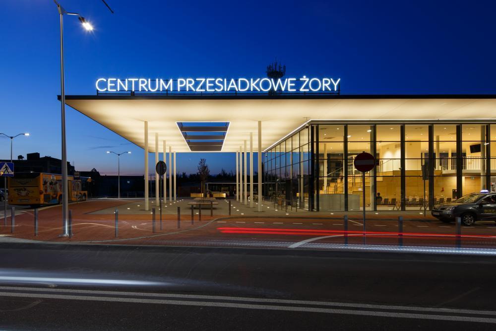 Centrum przesiadkowe w Żorach, Laboratorium Architektury 1