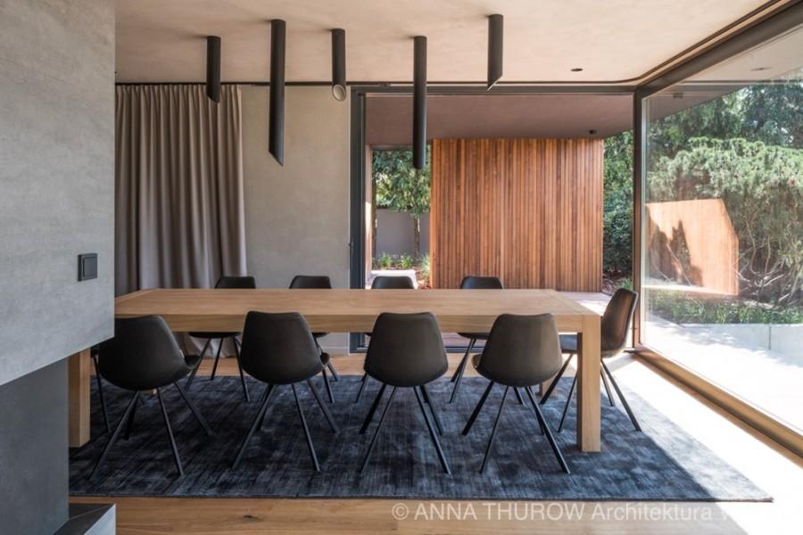 Eleganckie wnętrze domu z industrialną nutą w Szczecinie, Anna Thurow Architektura Wnętrz 1