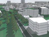 Wizualizacja inwestycji mieszkaniowej przy ulicy Gdańskiej