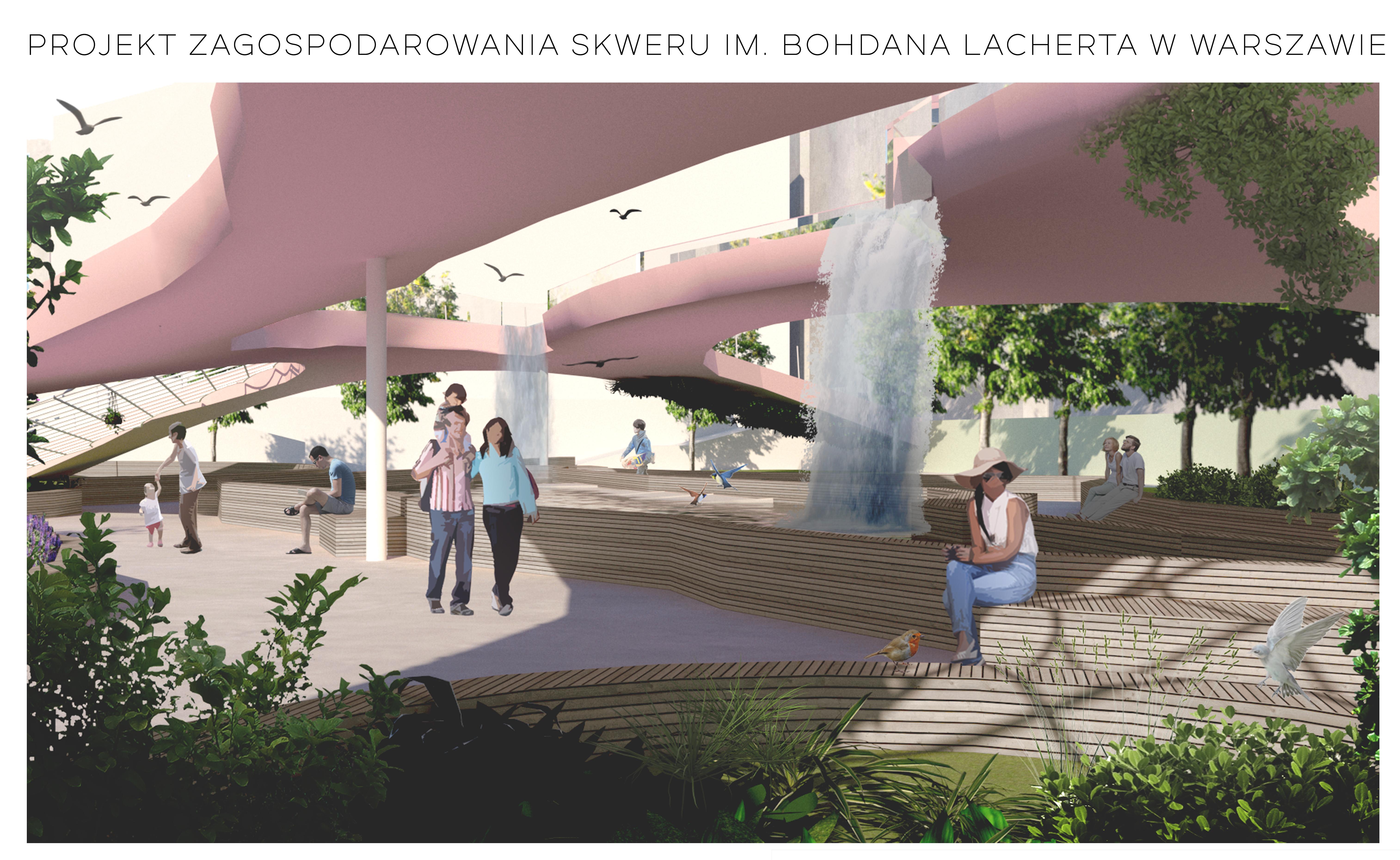 I Miejsce- wizualizacja- Szamani