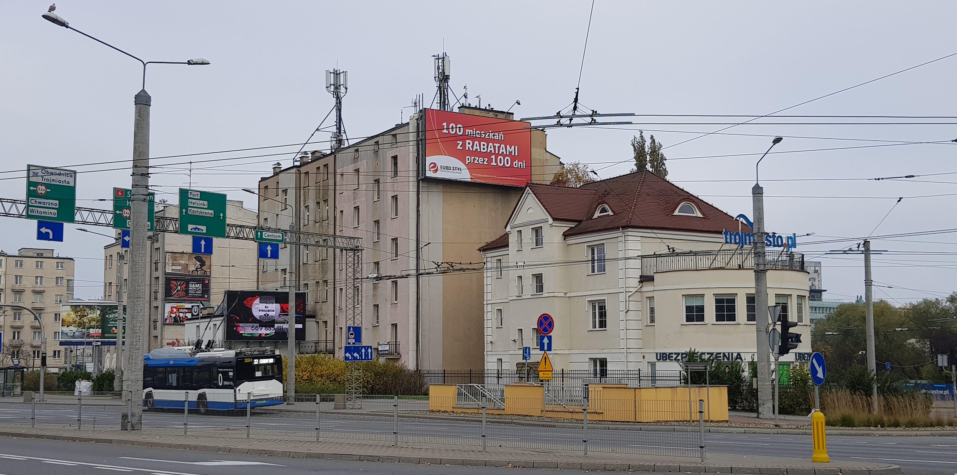 Wiele z reklam zniknąć ma ze Śródmieścia Gdyni | fot. WW