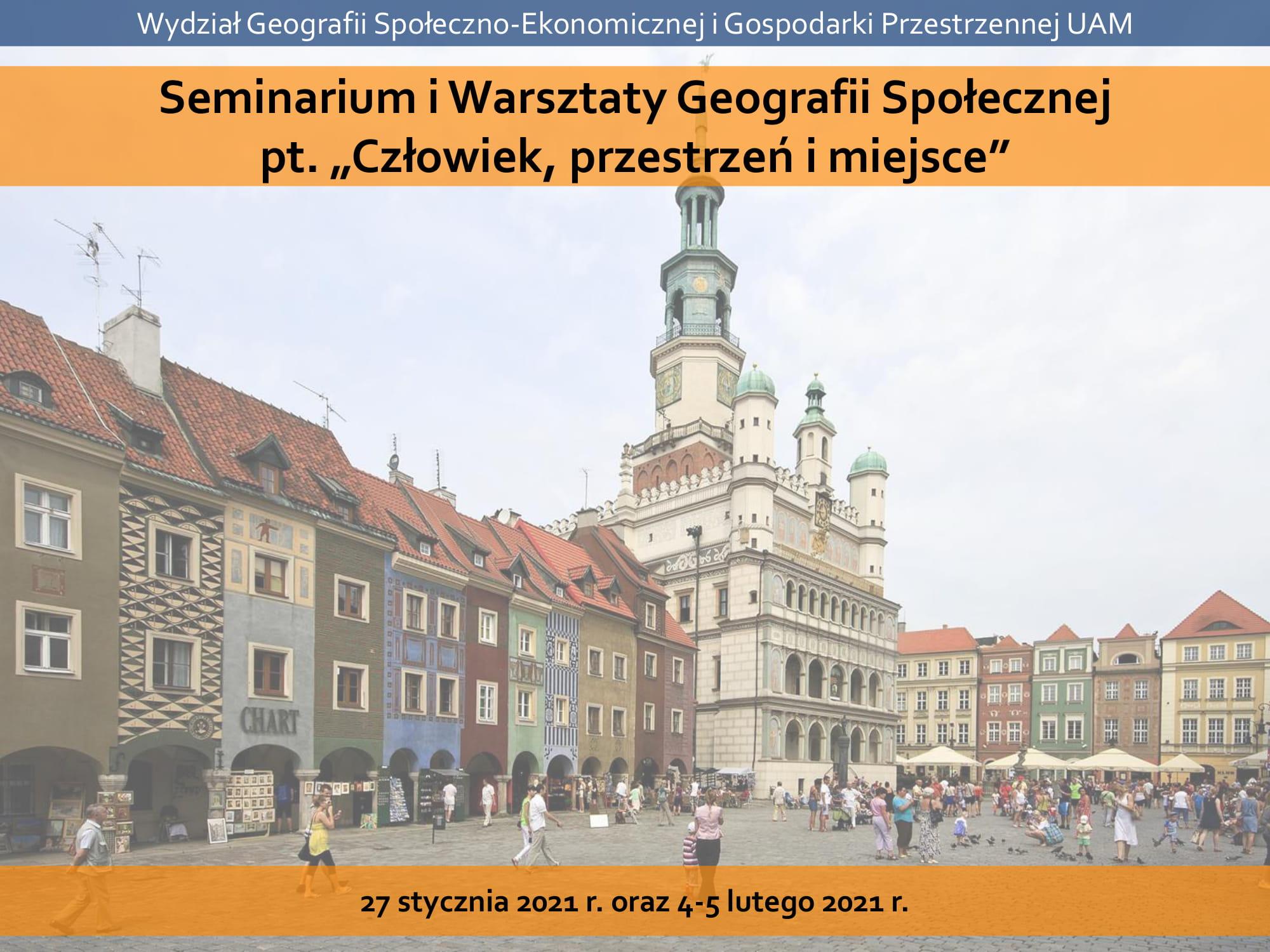 Grafika Seminarium Geografii Społecznej