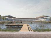 Wizualizacja stadionu Skra Warszawa