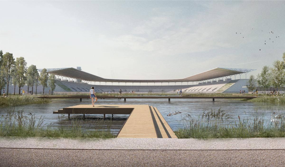 wizualizacja stadionu skry źródło: facebook/RafałTrzaskowski
