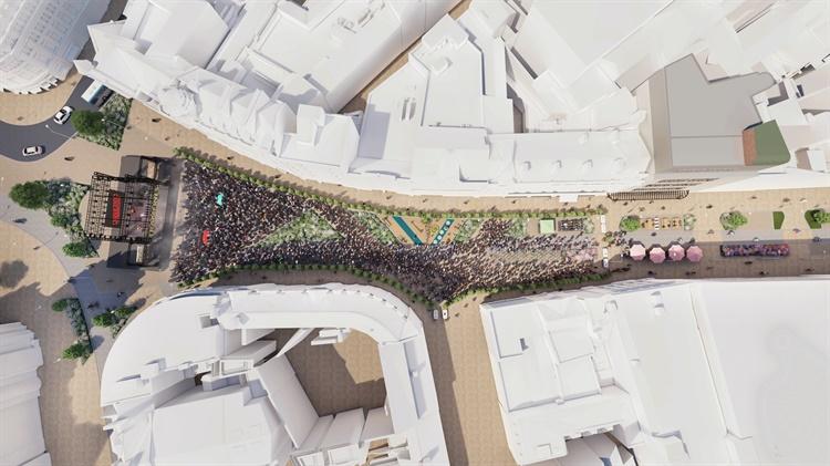 Projekt zmian w Sheffield obejmie m.in. zagospodarowanie przestrzeni publicznych