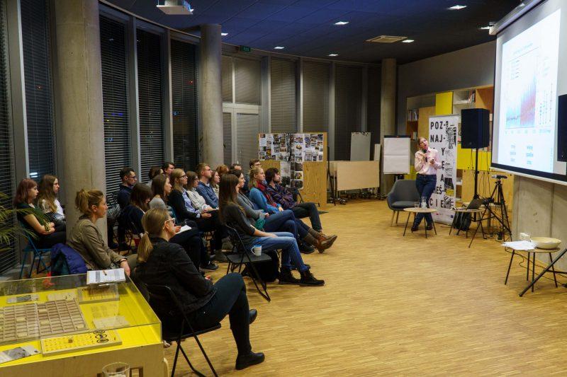 """Wykład dr Aleksandry Kardaś """"Co nam przyniesie zmiana klimatu?"""" w Urban Lab Gdynia, 11 grudnia 2019 r."""