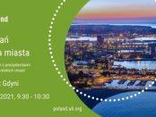 Grafika promująca spotkanie z prezydentem Gdyni