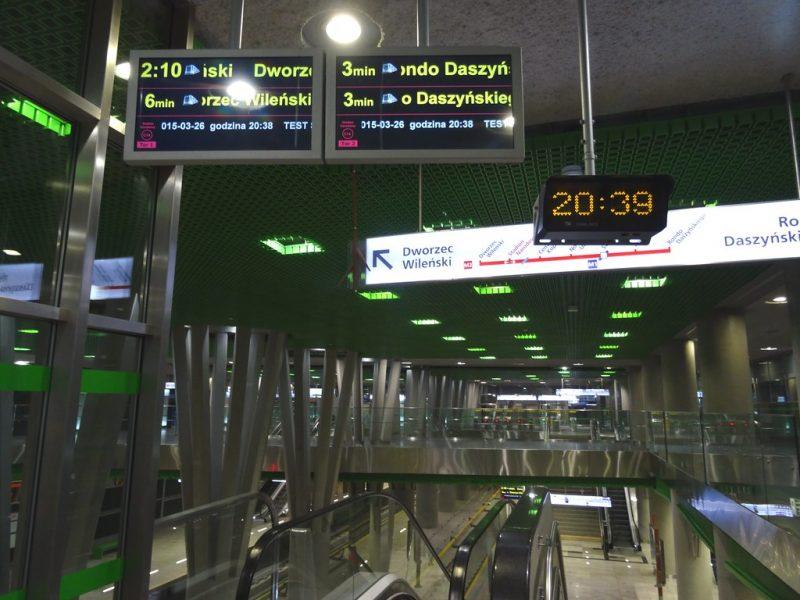 Zdjęcie stacji metra Stadion Narodowy