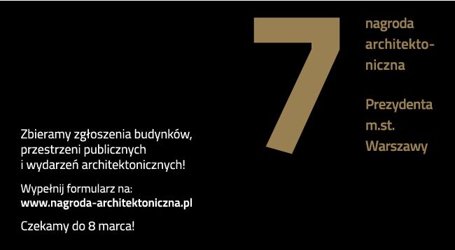 Nagroda Architektoniczna Warszawy