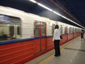 Zdjęcie pierwszej linii warszawskiego metra