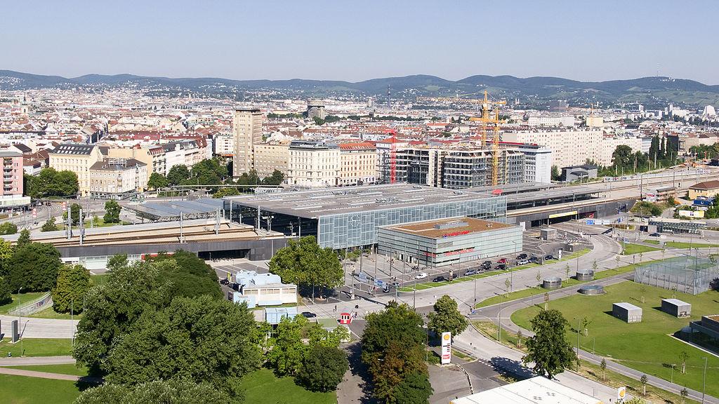 Węzeł Praterstern w Wiedniu obecnie   lic. domena publiczna