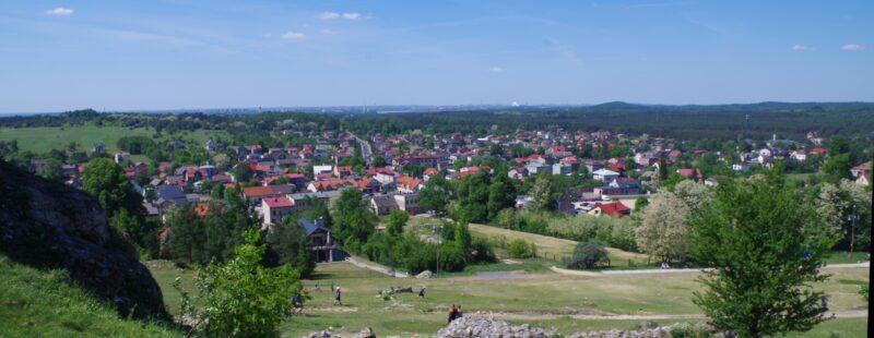 Olsztyn w województwie śląskim