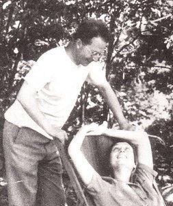 Clarence Stein z żoną, źródło: http://upload.wikimedia.org/wikipedia/en/3/3f/Clarence_Stein_and_Aline_MacMahon.jpg